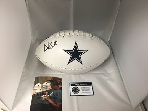 Prescott Autographed Cowboys Football Hologram