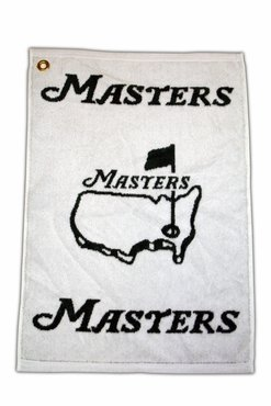 Masters Tournament Woven Towel Green