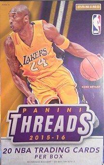 Panini Threads Basketball Memorabilia Autograph