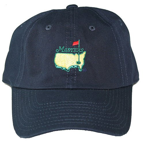 Masters Caddy Slouch Hat Navy