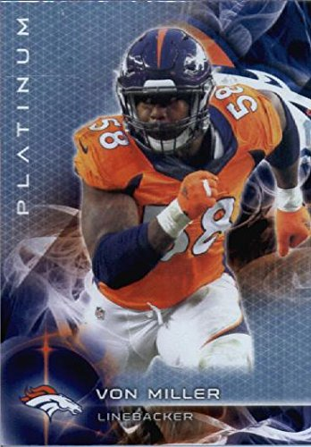 Topps Platinum Broncos Football Card MINT