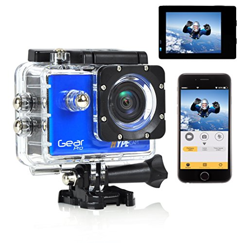 Waterproof Sports Action Camera Display