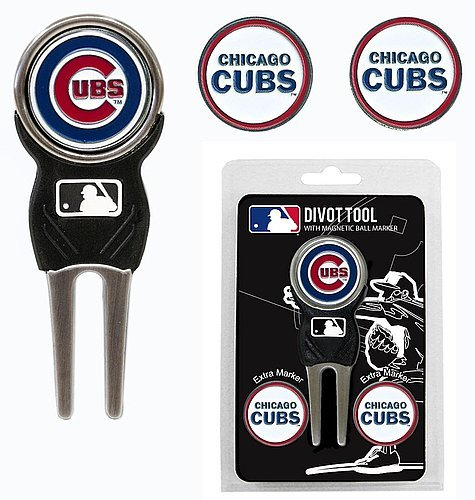 Chicago Cubs Golf Divot Markers
