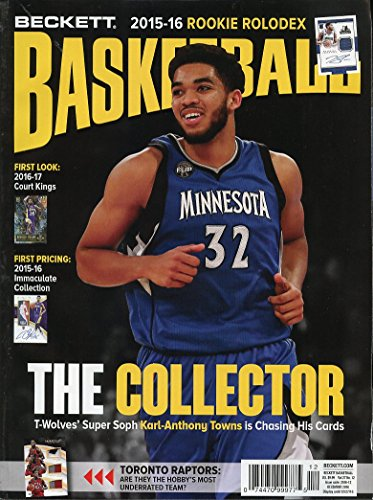 Beckett Basketball Monthly Price Magazine