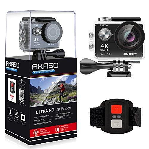 AKASO EK7000 Waterproof Camcorder Rechargeable