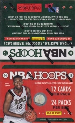 2014 15 Panini Hoops Basketball Hobby