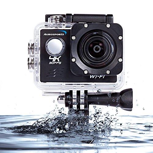 Aurosports Wi Fi Waterproof Sports Camera