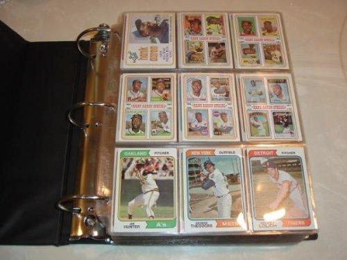 1974 Topps Baseball Complete Traded