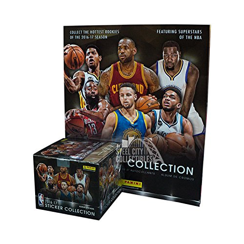 Panini Basketball Sticker Collection Combo