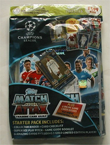 Match Attax Champions Collectors Including