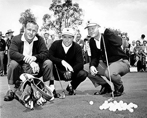 Player Nicklaus Together Masters Photograph