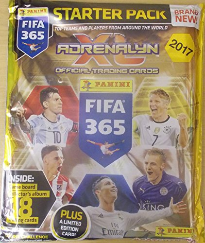 Panini Adrenalyn OFFICIAL STARTER LIMITED