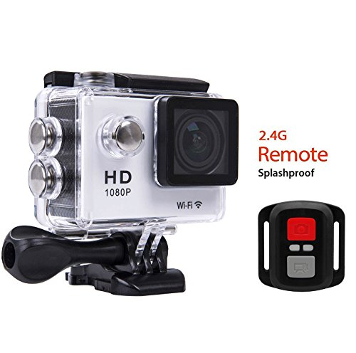 Action Sports Camera Waterproof Remote