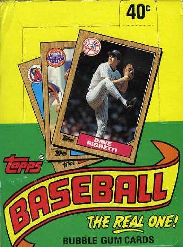 Topps Baseball Original Unopened Vintage