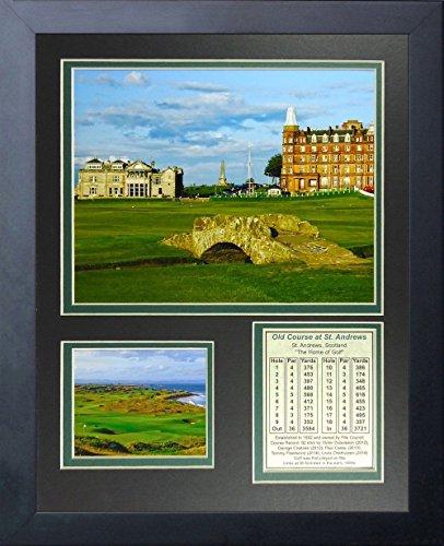 11×14 FRAMED COURSE ANDREWS SCOTLAND