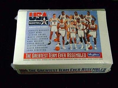 1992 Skybox Basketball Dream Team