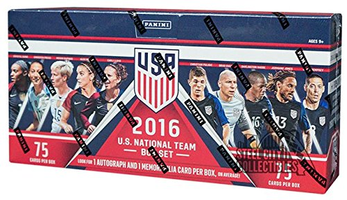 2016 Panini USA Soccer Box