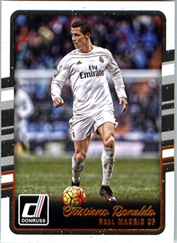 Donruss Cristiano Ronaldo Soccer Card