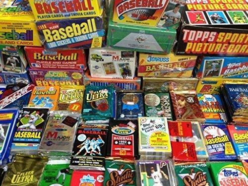 Vintage Baseball Cards Sealed Packs