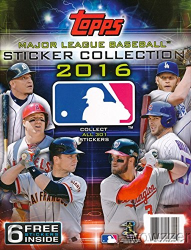 Topps Baseball Collectors Stickers Collectible