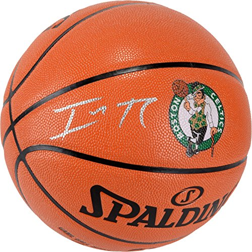 Isaiah Celtics Autographed Outdoor Basketball