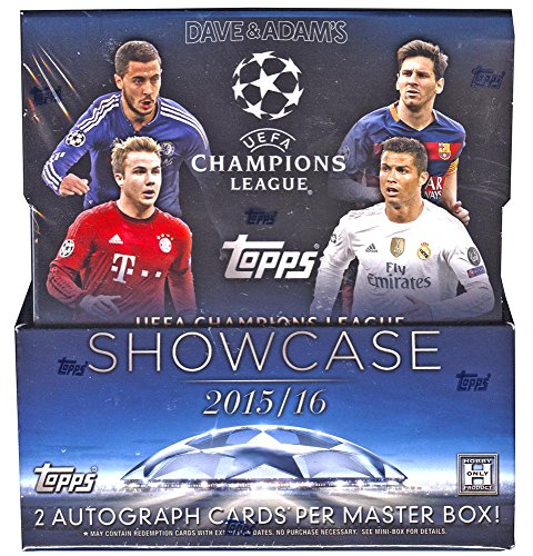 Topps Showcase Champions League Soccer