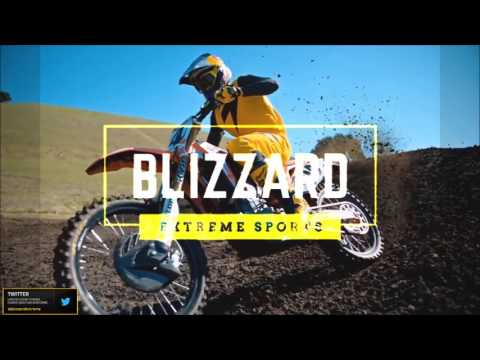 BLIZZARD EXTREME SPORTS INTRO #MOTOCROSS #SUPERCROSS