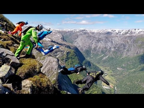 VLOG #18 Flying high at helicopter BASE day at Extreme Sports Week