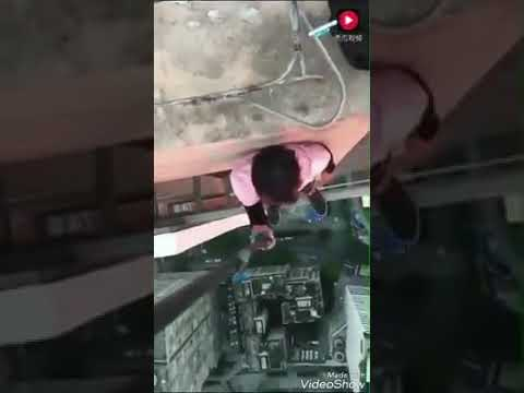 Extreme sports Chinese man Wing-ning fall due to mistakes