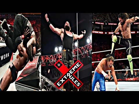 WWE Extreme Rules 2018 Highlights HD – wwe Extreme Rules 15/07/2018 Highlights HD