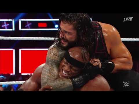 Roman Reigns vs Bobby Lashley – WWE Extreme Rules 2018