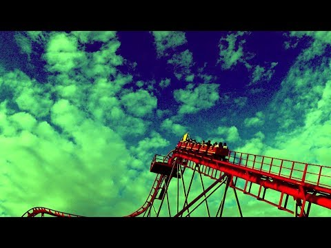 Roller coaster and my legs were shaking. extreme sport/Американские горки, ноги затряслись. экстрим