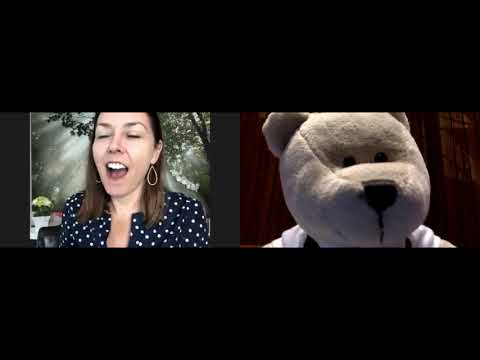 Bobby the Bear LinkedIn Video Chat with Judi Fox about Extreme Sports, Caving & Mountaineering