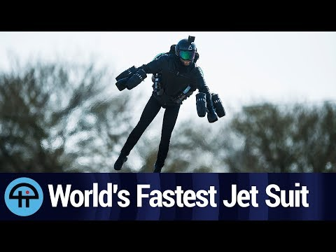 Gravity Industries' Iron Man-Like Jet Suit Next Extreme Sport?