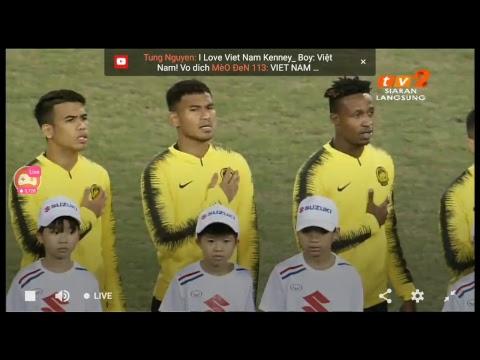 Malaysia vs Vietnam AFF Suzuki Cup Final 2018 15 Dis 2018 Stadium My Dinh Hanoi Vietnam