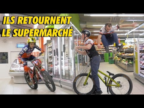 SHOPPING DE L'EXTRÊME ! (ft URBAN TRIAL SHOW)