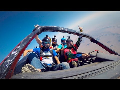 Extreme Sports Documentary: skydiving cars