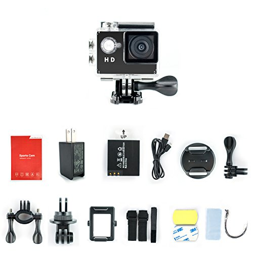 Yuntab 30 Meter Waterproof Camcorder Accessories