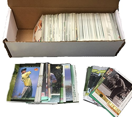 Golf Trading Card Collector Cards