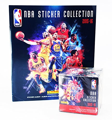 2015 16 Panini Basketball Sticker Collection