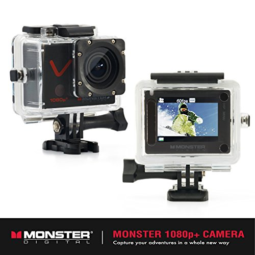 Monster MicroSD Accessories Included CAMVP 1080