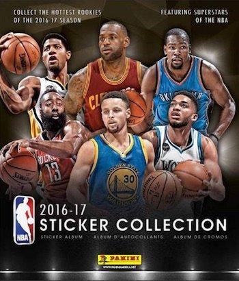 Panini Basketball Sticker Collection Album