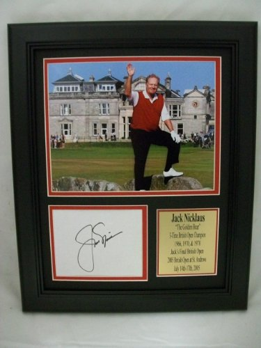 Jack Nicklaus Signed Photograph Autographed