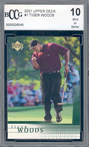 Upper TIGER WOODS Rookie Graded