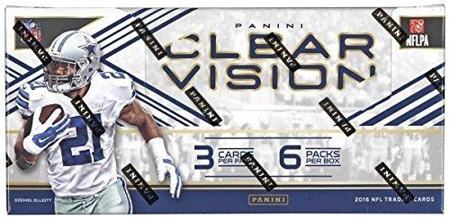 Panini Clear Vision Football Hobby