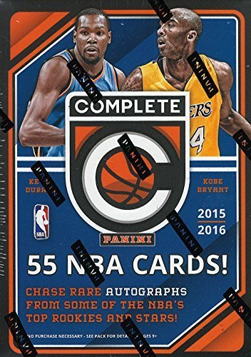 Complete Basketball Unopened Box Packs