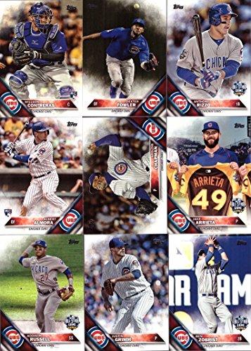 2016 Topps Update Chicago Baseball