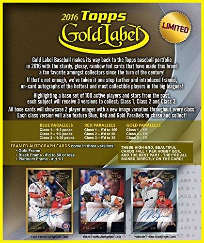 Topps Baseball Framed Autograph RELEASE