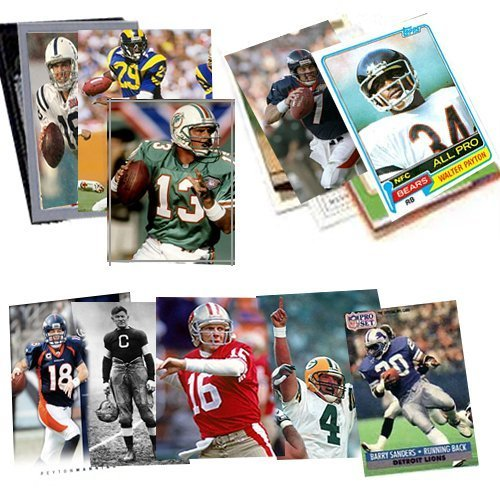 Football Superstar Collection Including Protective