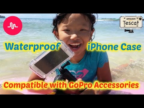 Extreme Sports Waterproof Case for iPhone 6s Plus   Underwater Musically Challenge